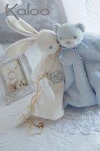 Hračky na maznanie a usínanie - Plyšový zajačik na maznanie Perle-Round Doudou Rabbit Kaloo 20 cm v darčekovom balení pre najmenších ružový_4