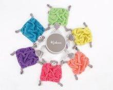 Hračky na maznanie a usínanie - Plyšový medveď na maznanie Neon Doudou Kaloo 20 cm v darčekovom balení pre najmenších modrý_1