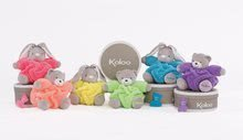 Plyšové medvede - Plyšový medveď Chubby Neon Kaloo 18 cm v darčekovom balení pre najmenších zelený_3