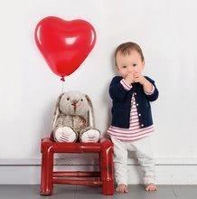 Hračky pro miminka - Plyšový zajíc Rouge Kaloo Small 19 cm z jemného plyše modro-krémový_4