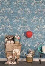 Hračky pro miminka - Plyšový zajíc Rouge Kaloo Small 19 cm z jemného plyše modro-krémový_5