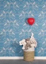 Hračky pro miminka - Plyšový zajíc Rouge Kaloo Small 19 cm z jemného plyše modro-krémový_6