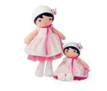 Hadrové panenky - Panenka pro miminka Perle K Tendresse Kaloo v bílých šatech v dárkovém balení 32 cm od 0 měsíců_5