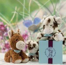 Plyšové zvieratká - Plyšová kravička Milky Les Amis-Vache Kaloo 19 cm v darčekovom balení pre najmenších_1
