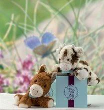 Bábky pre najmenších - Plyšová kravička bábkové divadlo Les Amis-Milky Vache Doudou Kaloo 30 cm pre najmenších_3
