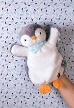 Bábky pre najmenších - Plyšový tučniak bábkové divadlo Les Amis-Penguin Doudou Kaloo 30 cm pre najmenších_2