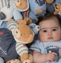 Hračky pre bábätká - Plyšový zajačik Blue Denim - Sweet Heart Kaloo 18 cm v darčekovom balení pre najmenších modrý_2