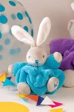 Hračky pre bábätká - Plyšový zajačik Chubby Neon Kaloo 18 cm v darčekovom balení pre najmenších modrý_5