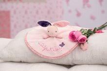 Hračky na maznanie a usínanie - Plyšový zajačik Petite Rose-Round Doudou Rabbit Love Kaloo 20 cm v darčekovom balení pre najmenších_3