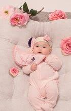 Hračky na maznanie a usínanie - Plyšový zajačik Petite Rose-Round Doudou Rabbit Love Kaloo 20 cm v darčekovom balení pre najmenších_4