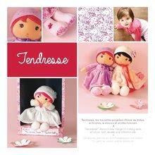 Handrové bábiky - Bábika pre bábätká Perle K Tendresse doll XXL Kaloo 80 cm so srdiečkom v šatách z jemného textilu od 0 mes_1