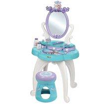 Kozmetický stolík pre deti - Kozmetický stolík Frozen 2v1 Smoby so stoličkou a 10 doplnkami_11