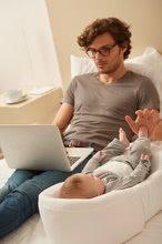 Hračky pre bábätká - Hniezdo na spanie Cocoonababy® Red Castle pre bábätká s doplnkami biele od 0 mesiacov_6