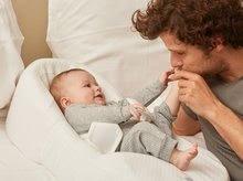 Hračky pre bábätká - Hniezdo na spanie Cocoonababy® Red Castle pre bábätká s doplnkami biele od 0 mesiacov_7