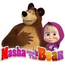 Logo 2 masha and the bear