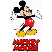 Logo 2 mickey mouse