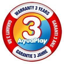 Logo aquaplay 3 roky zaruka