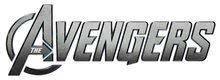 Logo avengers metal