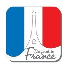 Logo designed in france