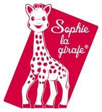 Dekorácie do detských izieb - Drevené písmeno S Sophie The Giraffe Janod lepiace 7 cm béžové/červené od 3 rokov_0