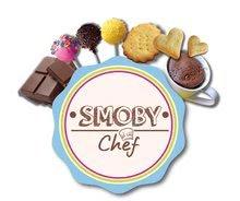 Kuchynky pre deti sety - Set kuchynka Tefal Studio BBQ Bublinky Smoby s magickým bublaním a Hravá kuchárka na výrobu čokoládových bonbónov_31