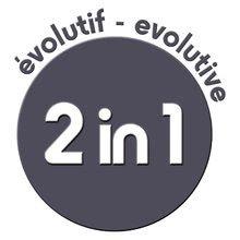 Logo smoby evolutif 2 in 1