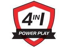 Stolný futbal - Drevený futbalový stôl Powerplay 4v1 Smoby stolný futbal, biliard, hokej a tenis od 8 rokov_10