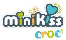Dětská chodítka - Chodítko a kočárek pro panenku Croc Baby Walker MiniKiss 3in1 Smoby s brzdou a bezpečnostním pásem od 12 měsíců_23