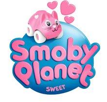 Garáže - Domček Sweet Planet Smoby elektronický kvetinový so zvieratkom na kolieskach dĺžka 7 cm od 18 mes_5