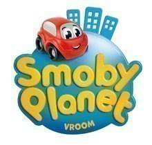 Autodráhy - Logo smoby vroom 2