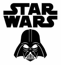 Logo star wars vader