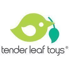 Logo tender leaf tender leaf