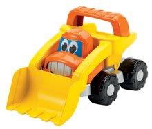 Homokozó autók - Szett építőipari járművek Bob mester Écoiffier dömper, úthenger, kotrógép narancssárga 18 hó-tól_2