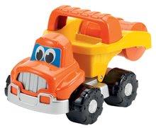 Homokozó autók - Szett építőipari járművek Bob mester Écoiffier dömper, úthenger, kotrógép narancssárga 18 hó-tól_3
