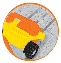 Homokozó autók - Szett építőipari járművek Bob mester Écoiffier dömper, úthenger, kotrógép narancssárga 18 hó-tól_4