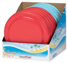 Lietajúce taniere - Lietajúci tanier Écoiffier priemer 22,5 cm bledomodrý/červený od 18 mes_0