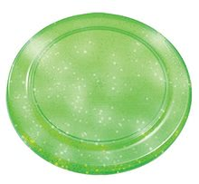Disc zburător Écoiffier cu sclipici diametru 23 cm verde de la 18 luni
