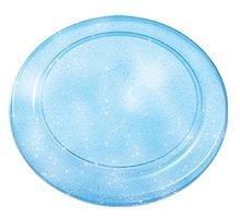 Lietajúci tanier Écoiffier s trblietkami priemer 23 cm od 18 mesiacov modrý