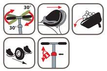 Trojkolky od 15 mesiacov - Trojkolka Požiarnik Sam Be Move Smoby s vodiacou tyčou od 15 mes_2