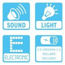 Igrače za vlečenje - Gosenica za vlečenje Caterpillar Cotoons Smoby elektronska z lučko in melodijami od 12 mes_2