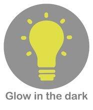 Piktogramy kaloo glow in the dark