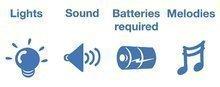 Odrážadlá so zvukom - Odrážadlo modré Toy Story Kiddieland so zvukom a svetlom od 12 mes_1