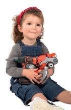 Dětská dílna sety - Set pracovní dílna Black&Decker Smoby elektronická a úklidový vozík s elektronickým vysavačem_14