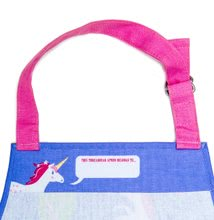 TB1201 c thread bear unicorn apron