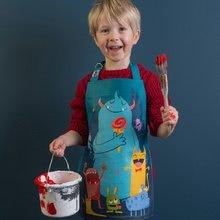 TB1401 d thread bear monster apron