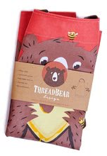 TB2001 b thread bear bear apron