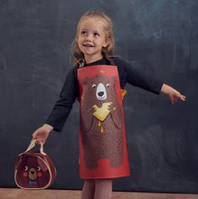 TB2001 c thread bear bear apron