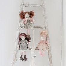 Hadrové panenky - Panenka hadrová Amelie Rag Doll ThreadBear 35 cm z jemné měkké bavlny s blond drdolem_4