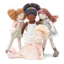 Hadrové panenky - Panenka hadrová Amelie Rag Doll ThreadBear 35 cm z jemné měkké bavlny s blond drdolem_1
