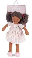 Hadrové panenky - Panenka hadrová Mia Rag Doll ThreadBear 35 cm z jemné měkké bavlny s tmavými vlásky_1